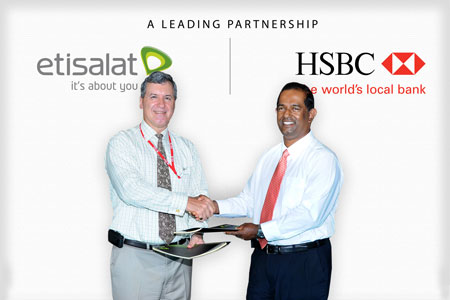 HSBC Joins the Etisalat Network as 2 Global giants tie up to